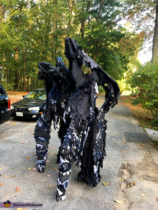 Side View, The Night Demon Costume