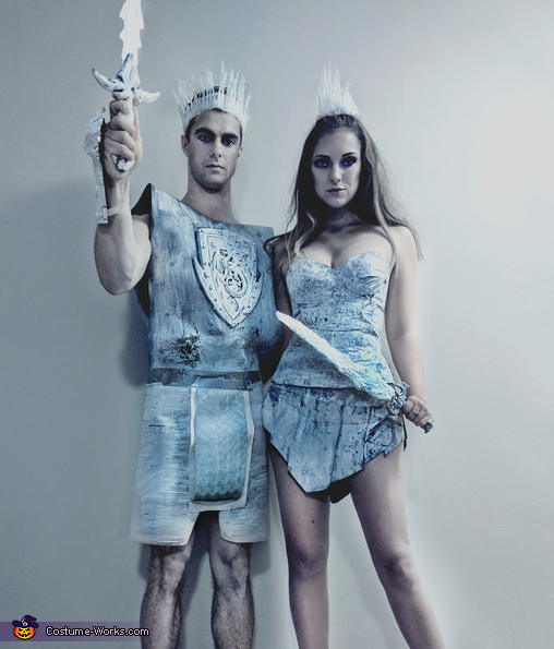 The Night King & Queen Costume