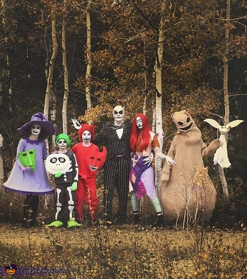 The Nightmare Before Christmas Costume