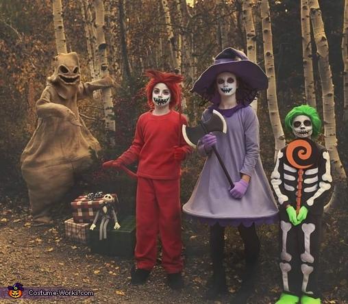 The Nightmare Before Christmas Homemade Costume
