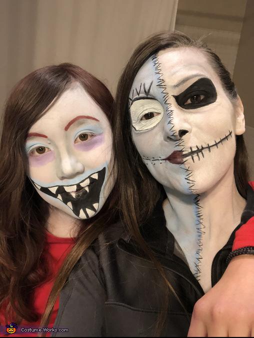 Sally/Jack Skeleton, The Nightmare Before Christmas Costume