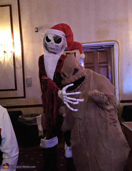 Jack and oogie, The Nightmare Before Christmas Costume