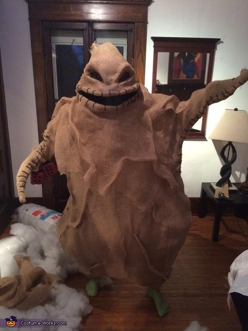 Oogie boogie dancing, The Nightmare Before Christmas Costume
