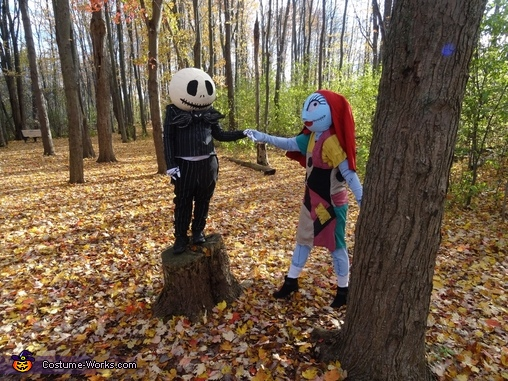 The Nightmare Before Christmas Homemade Costume