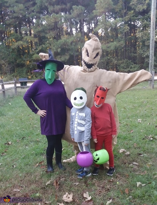oogie and his boys, The Nightmare Before Christmas Costume