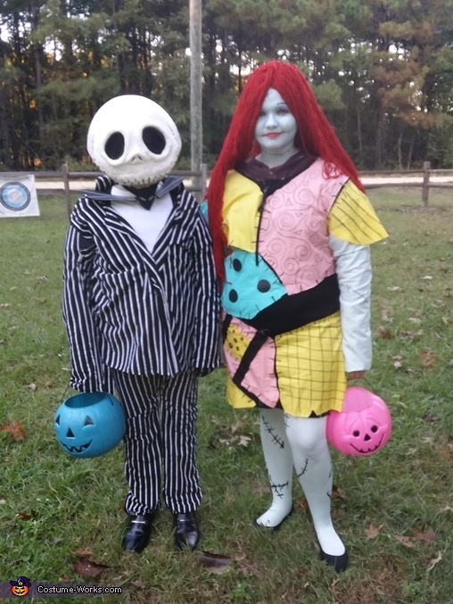 Jack and Sally, The Nightmare Before Christmas Costume
