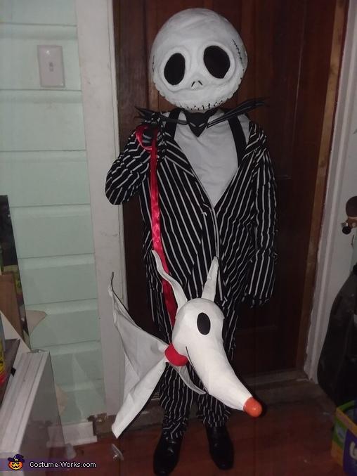 Zero, The Nightmare Before Christmas Costume