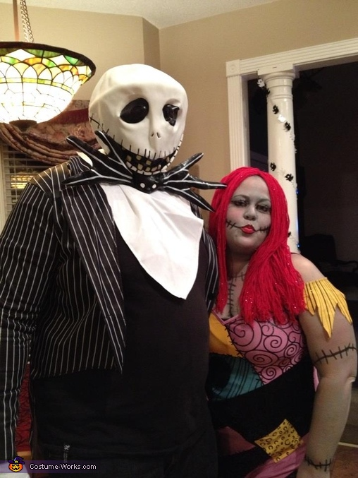the nightmare before christmas homemade costume - Nightmare Before Christmas Halloween Costume