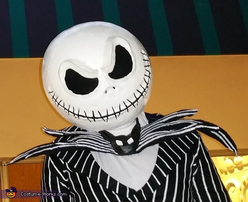 The Nightmare Before Christmas Jack Skellington Homemade Costume