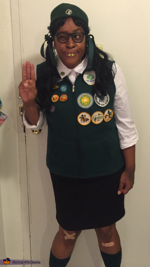 The number 1 Girl Scout Costume
