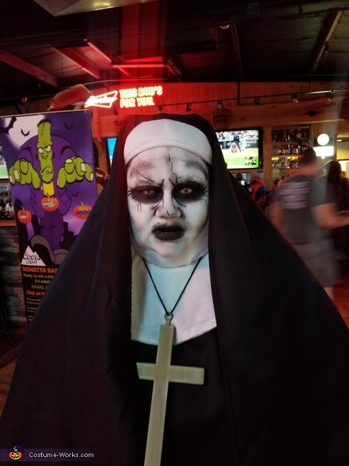 I will haunt everyone!, The Nun Costume
