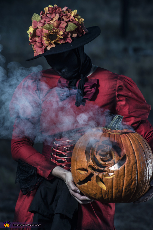 Rose Pumpkin, The Nurse (Dead by Daylight) Costume