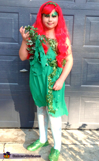 Lauren as 'Poison Ivy', The Nutcracker Costume