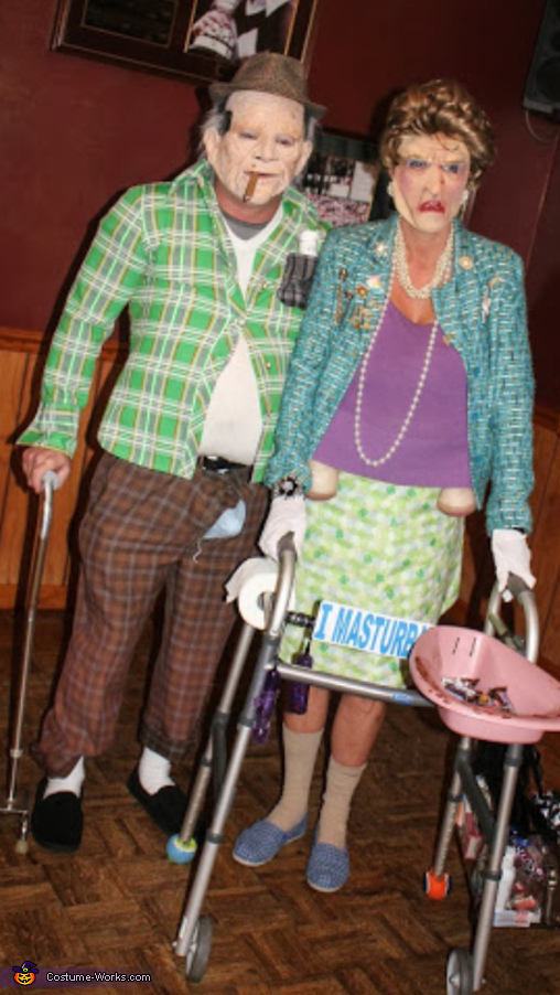The Old Horny Couple Costume