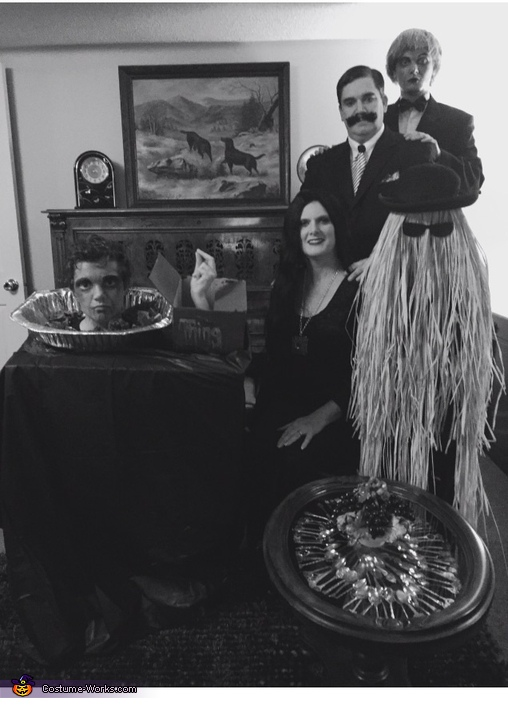 Inside the Adams Home, The Original Adams Family Costume