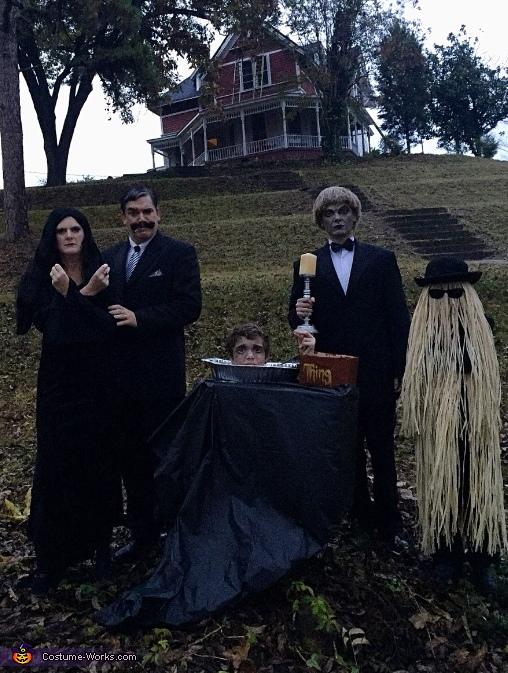 The Original Adams Family Costume
