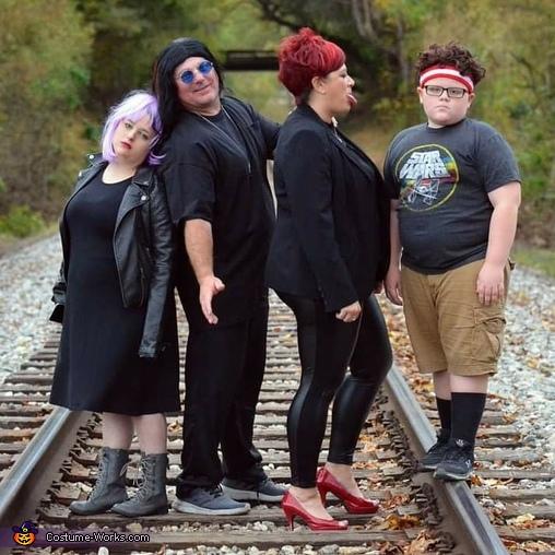 The Osbourne's Costume