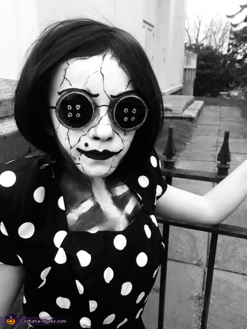 The Other Mother - Coraline Homemade Costume