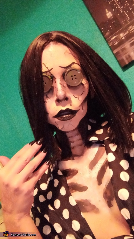 The Other Mother of Coraline Homemade Costume
