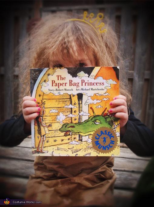 The Paper Bag Princess Costume