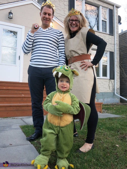 The Paperbag Princess Family Costume