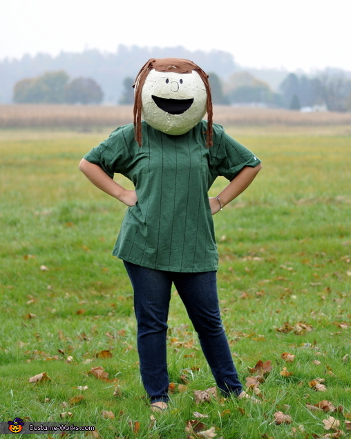 Peppermint Patty - my 17 year old, The Peanuts Gang Costume
