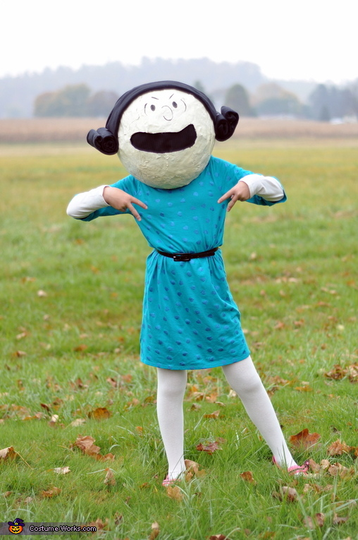 Lucy - my 11 year old (lol, posing as a tween!!) :), The Peanuts Gang Costume