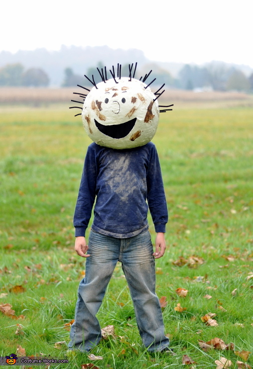 Pigpen - my 8 year old, The Peanuts Gang Costume