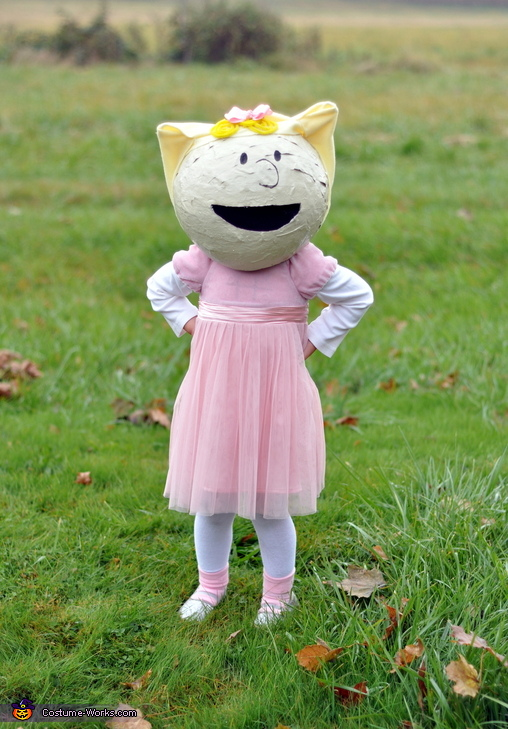Sally - my 3 year old, The Peanuts Gang Costume