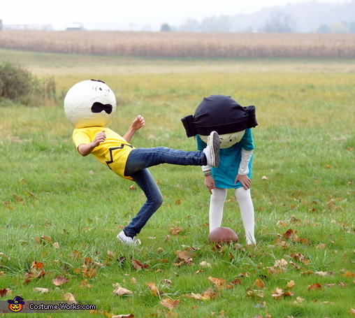 The Peanuts Gang Homemade Costume