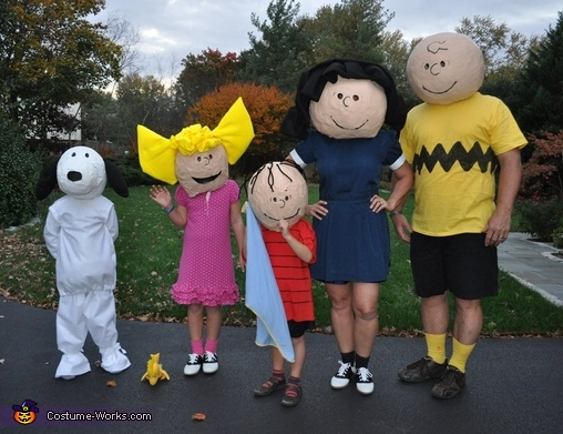 The Peanuts Gang Costume