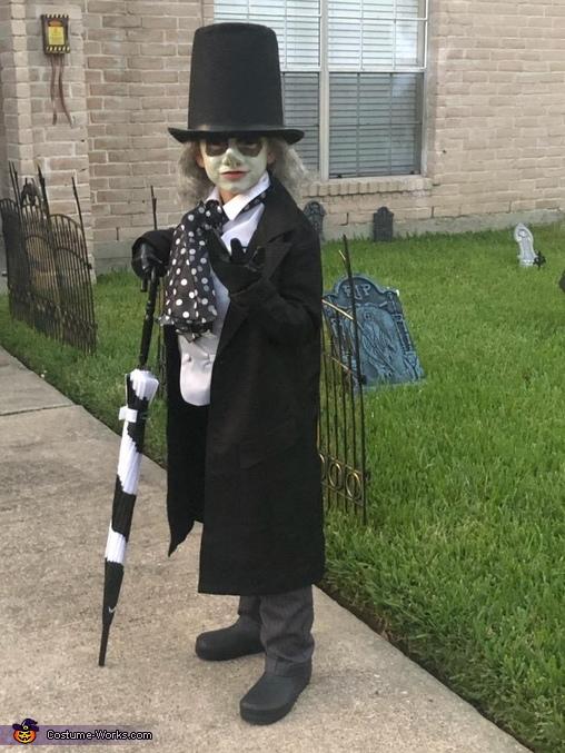 The Penguin Homemade Costume