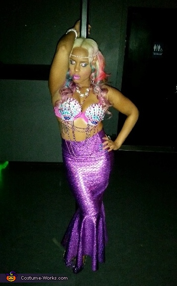 The Perfect Mermaid Homemade Costume