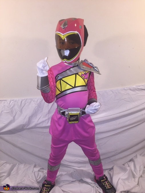 The Pink Ranger Costume