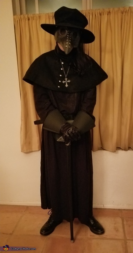 The Plague Doctor in Modern Times Costume