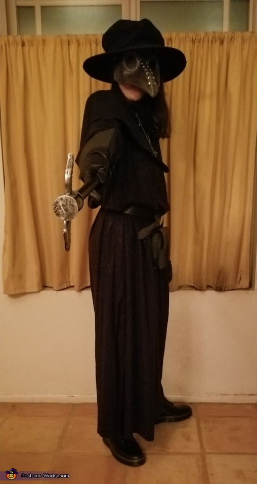 Im Comeing For You =), The Plague Doctor in Modern Times Costume