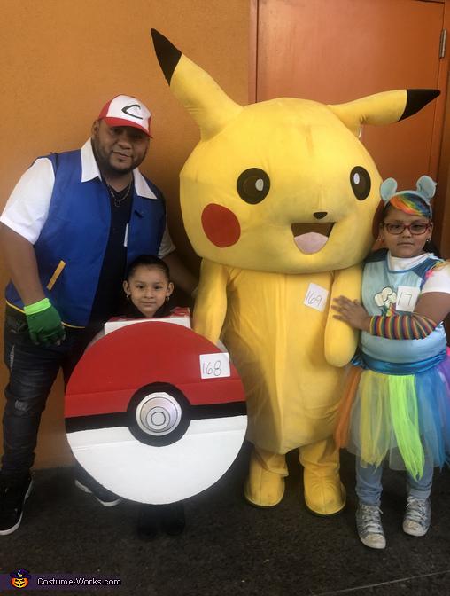 The Pokemon Go Family Costume