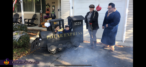 All Aboard!, The Polar Express Costume