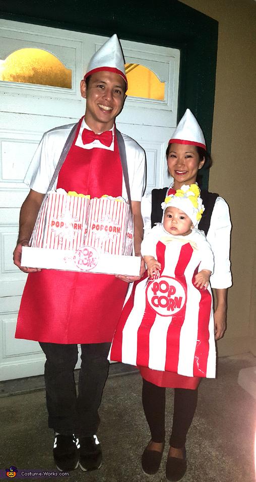 The Popcorn Family Costume
