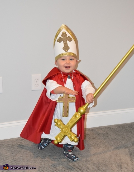 The Pope Baby Costume
