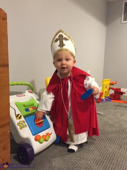 Pope Baby Costume