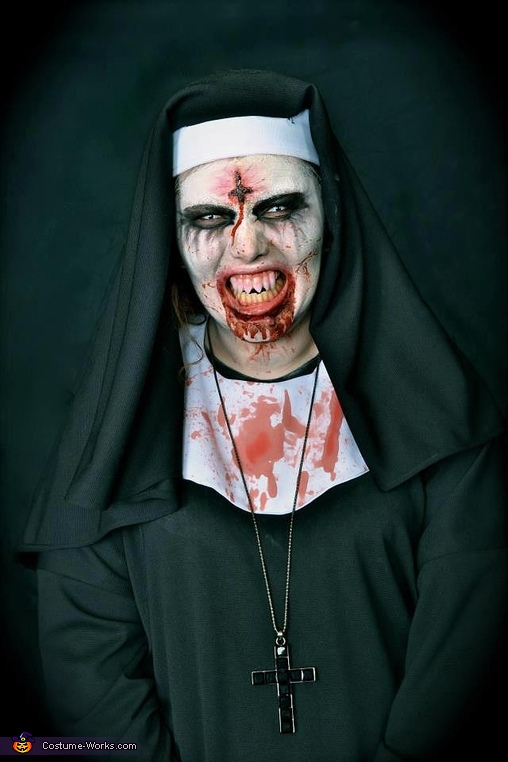 The Possessed Nun Costume