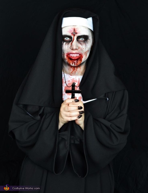 religious, satanic, The Possessed Nun Costume