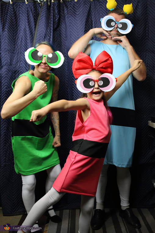 Buttercup, Blossom and Bubbles, The Powerpuff Girls Costume