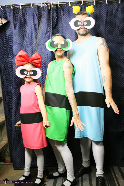 The Powerpuff Girls Homemade Costume