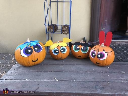 Even our pumpkins were Powerpuff Girls, The Powerpuff Girls Costume