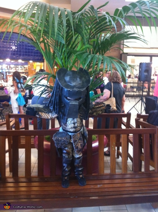 Front of the costume, The Predator Costume