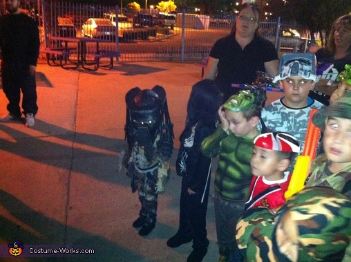 The predator & his competition , The Predator Costume