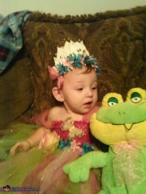 The Princess and the Frog Costume