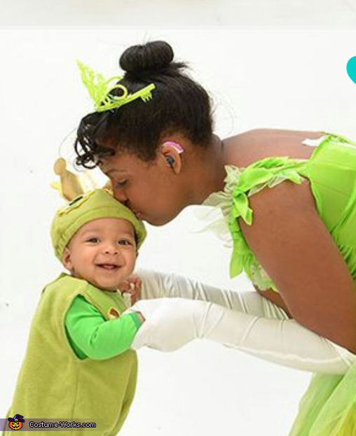 The princess and the little frog prince, The Princess and the Little Frog Prince Costume